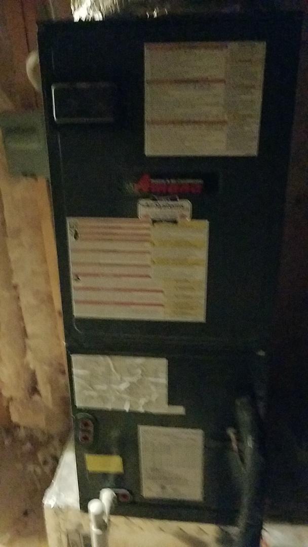 Ooltewah, TN - Service call. Performed repair on Amana heat pump