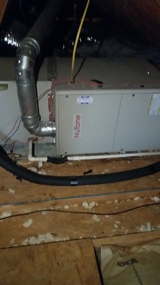 Cleveland, TN - Service call. Performed repair on Nutone Furnace.