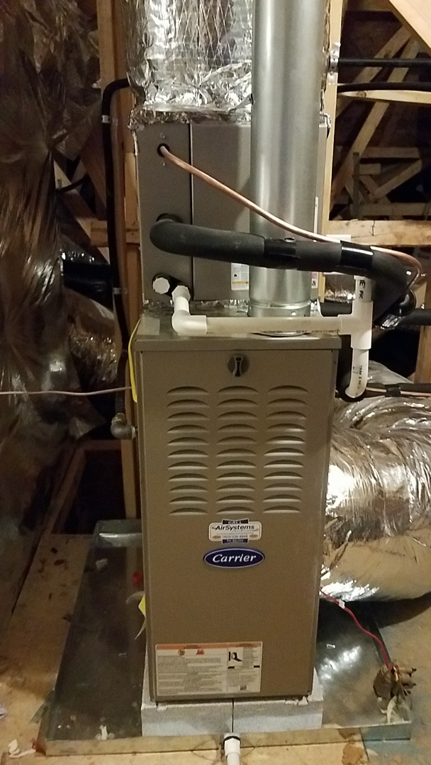 Apison, TN - Service call on Carrier furnace