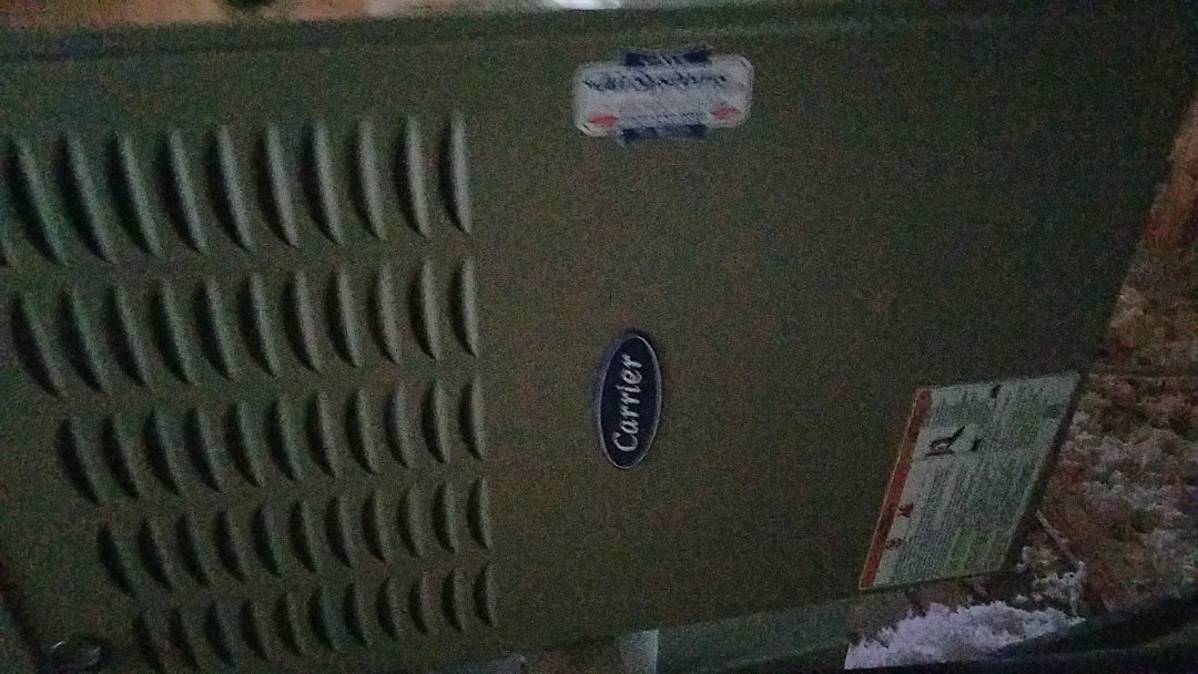 Ooltewah, TN - Installation call. Performed install of Carrier furnace