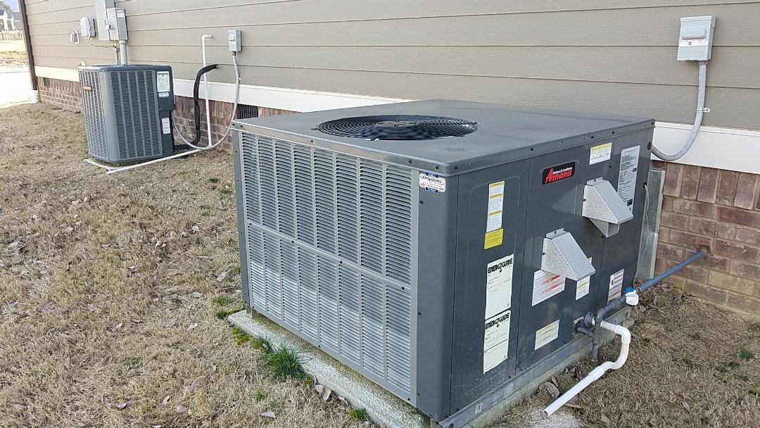 Ooltewah, TN - Service call. Performed repair on Amana furnace