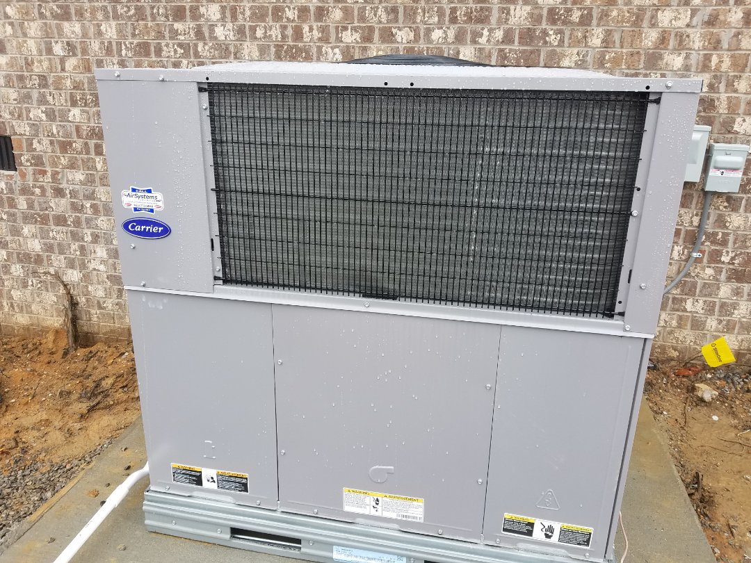 Signal Mountain, TN - Installation call. Performed install of Carrier heat pump