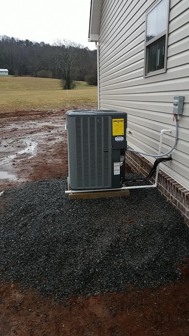 Cleveland, TN - Service call. Amana heat pump split system