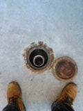 Clearing drain
