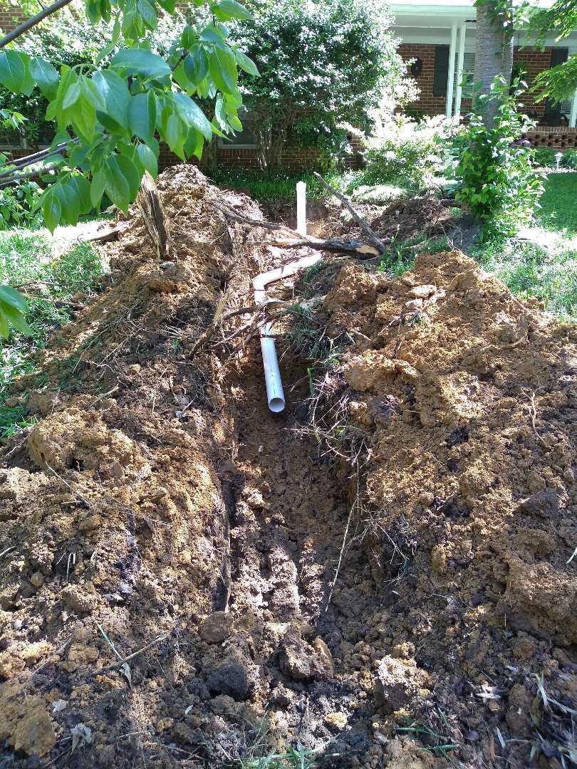 Atlanta, GA - Replacing main sewer line
