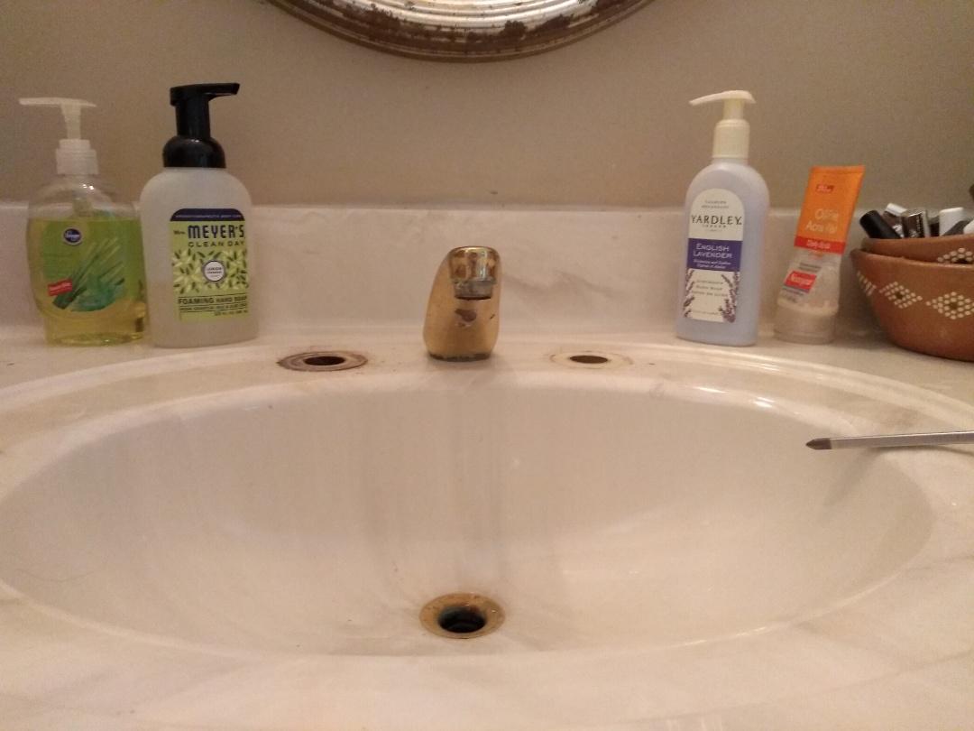 Roswell, GA - Replacing faucet