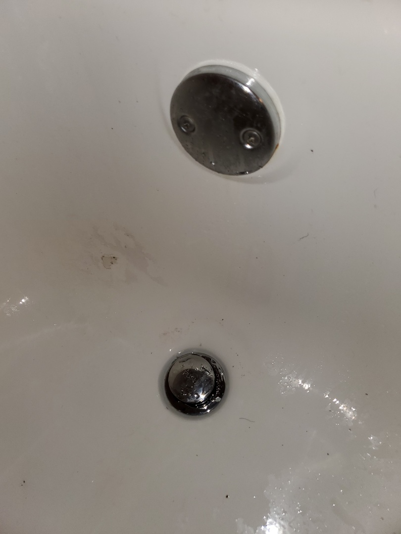 Changed out the tub drain in the master bathroom tub shower