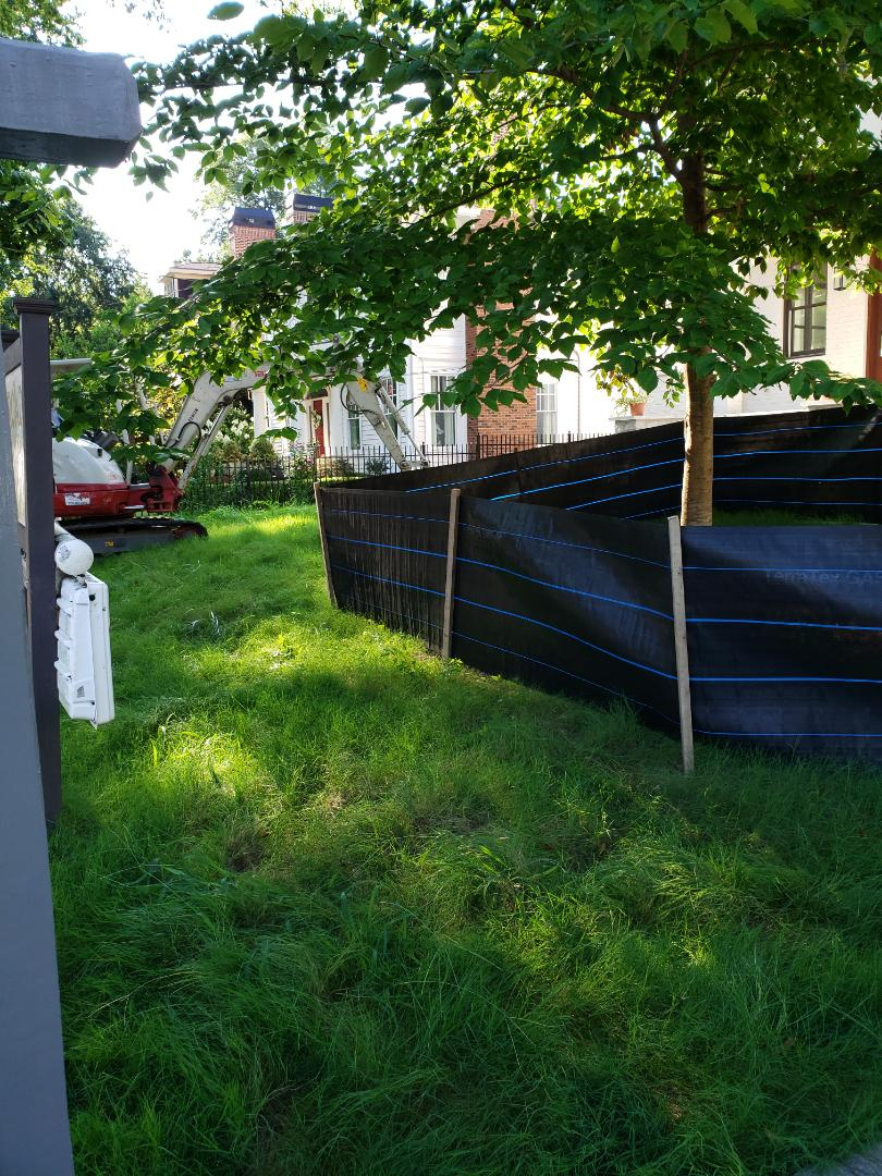 """Starting a huge sinkhe project. Collapsed 24"""" storm main."""