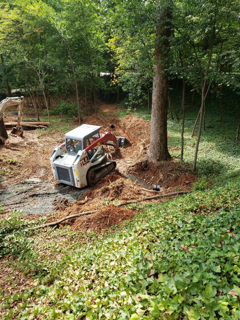 Replacing storm drain