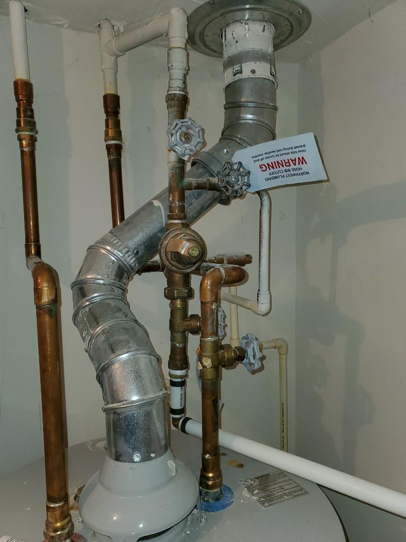 """Replace 3/4"""" pressure reducing valve"""