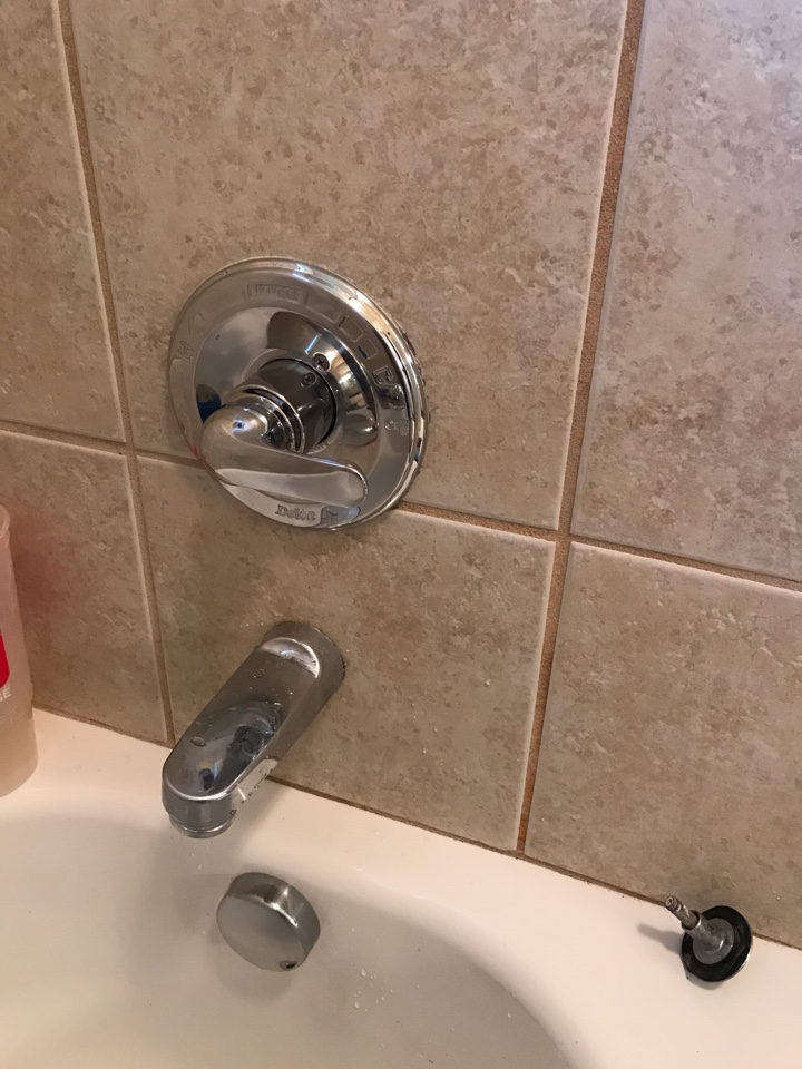 Atlanta, GA - Installed delta pressure balance cartridge in downstairs shower