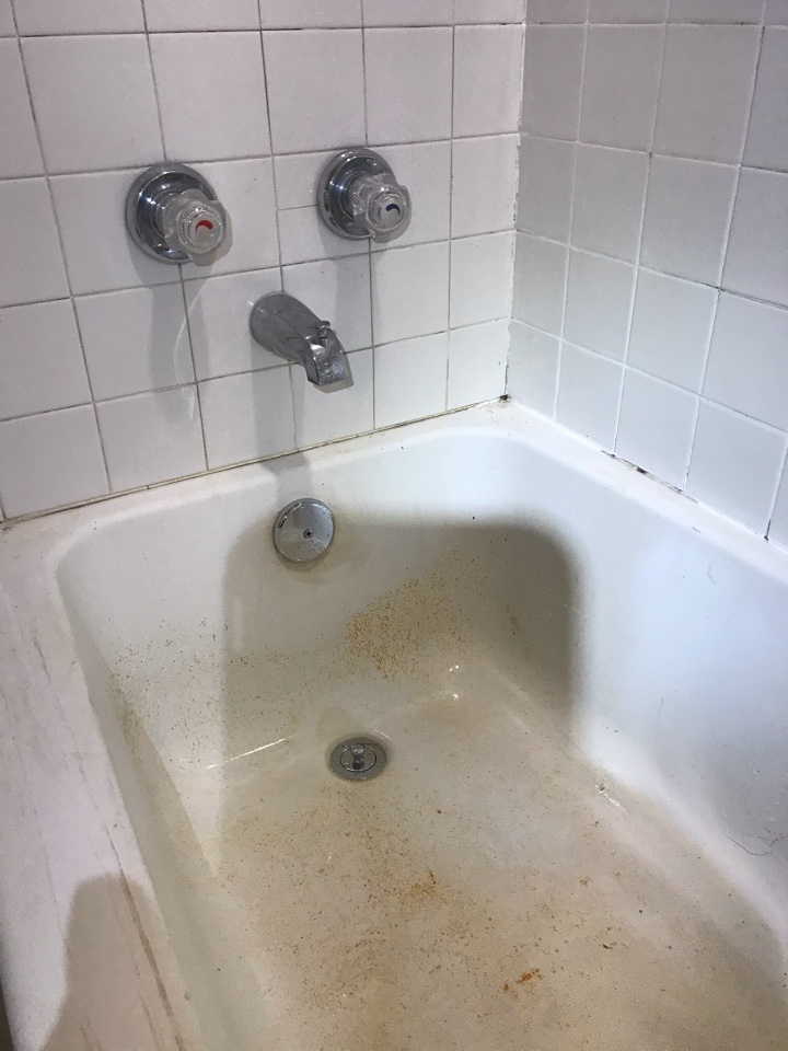 Sandy Springs, GA - Replaced hot and cold stems on tub shower and replaced waste and drain
