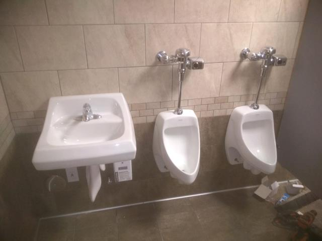 Grayson, GA - Installed new american sink and 2 Zurn urinals