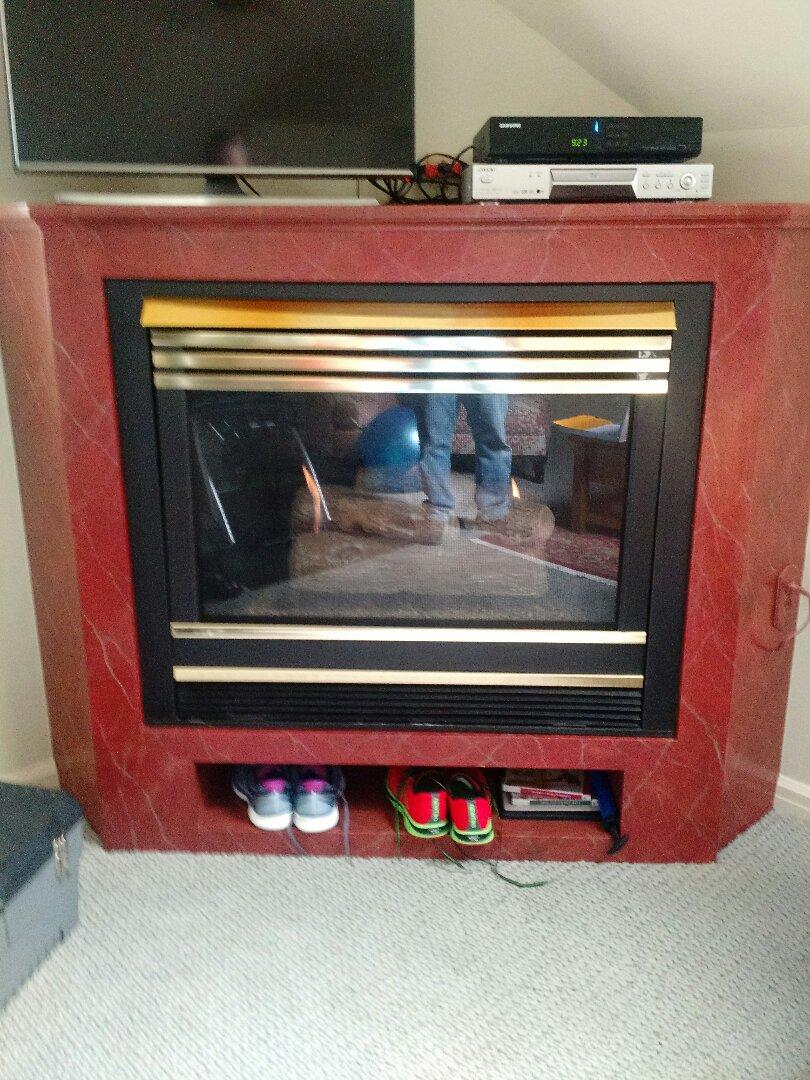 Brookfield, WI - Fireplace Service.