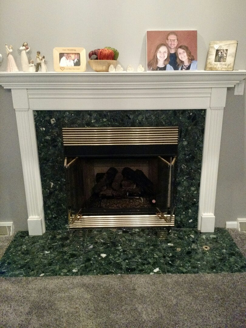 New Berlin, WI - Tune Up Gas Logs Fireplace.