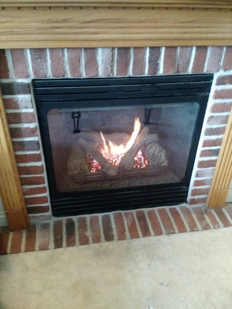 Waukesha, WI - Repair fireplace in Waukesha.