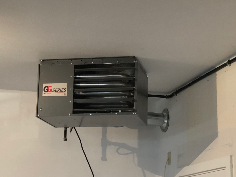 Brookfield, WI - Sterling unit heater