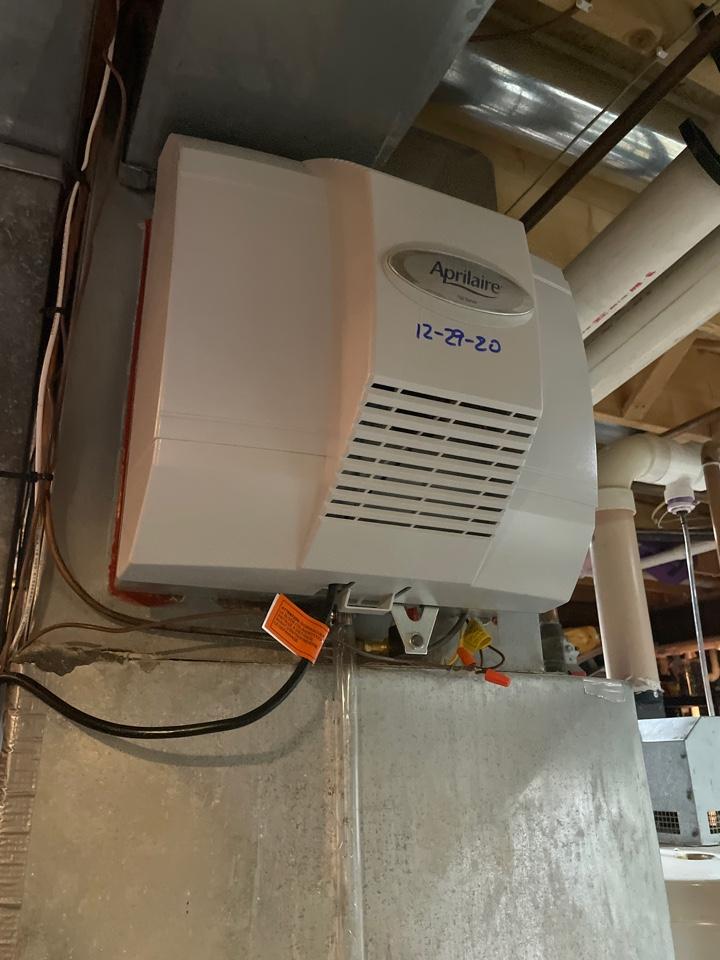 Mukwonago, WI - April air replacement