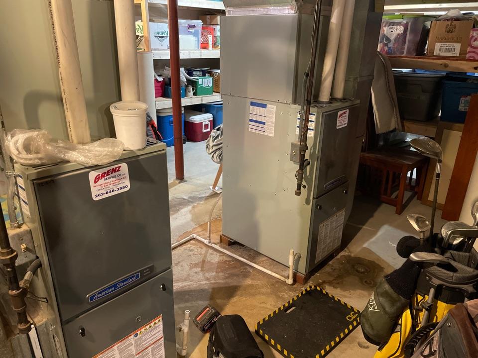 Delafield, WI - American standard furnace maintenance