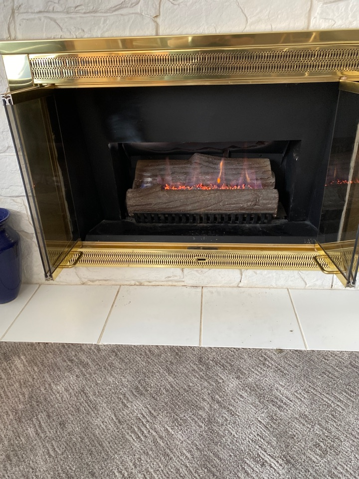 Repair obsolete pilot assembly on this fireplace.