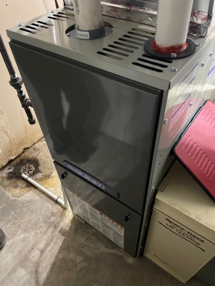 Nashotah, WI - American Standard furnace install