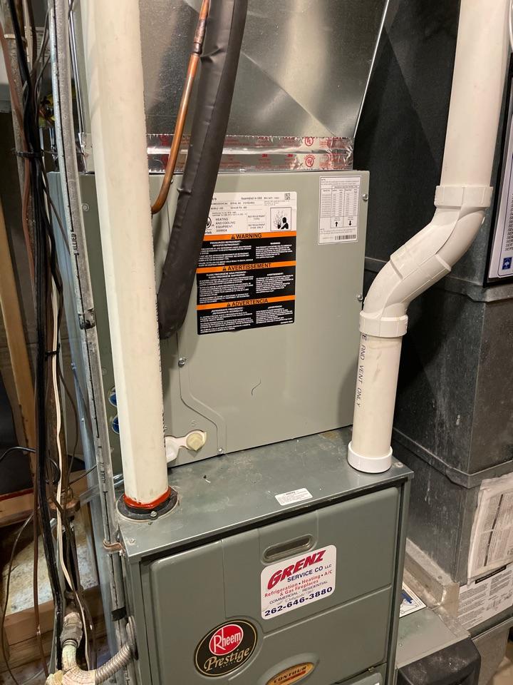 Delafield, WI - American Standard AC install