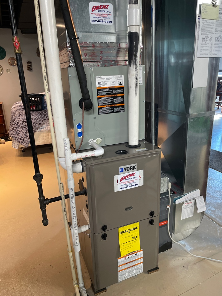 Watertown, WI - American standard air conditioning installed
