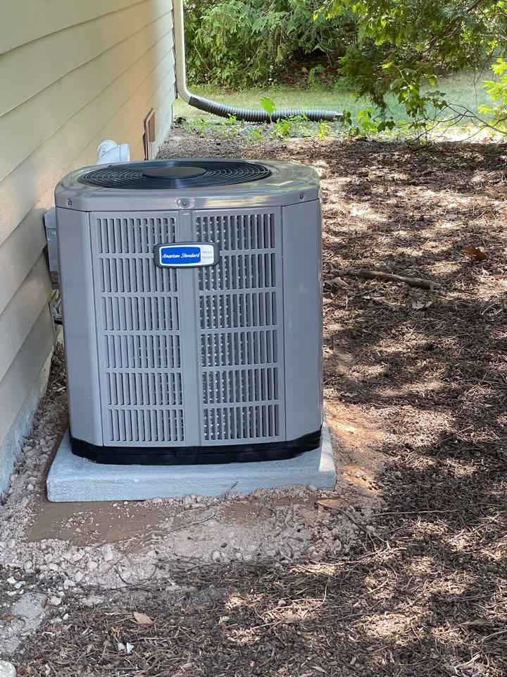 Watertown, WI - American standard system install