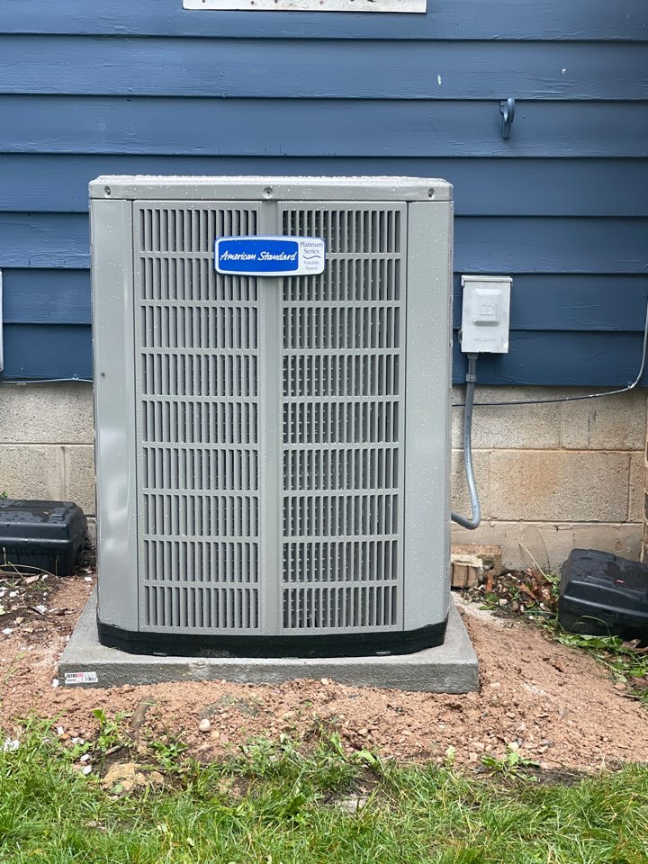 Wales, WI - American standard platinum variable speed install