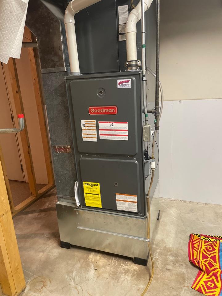 Waukesha, WI - Goodman heating system maintenance