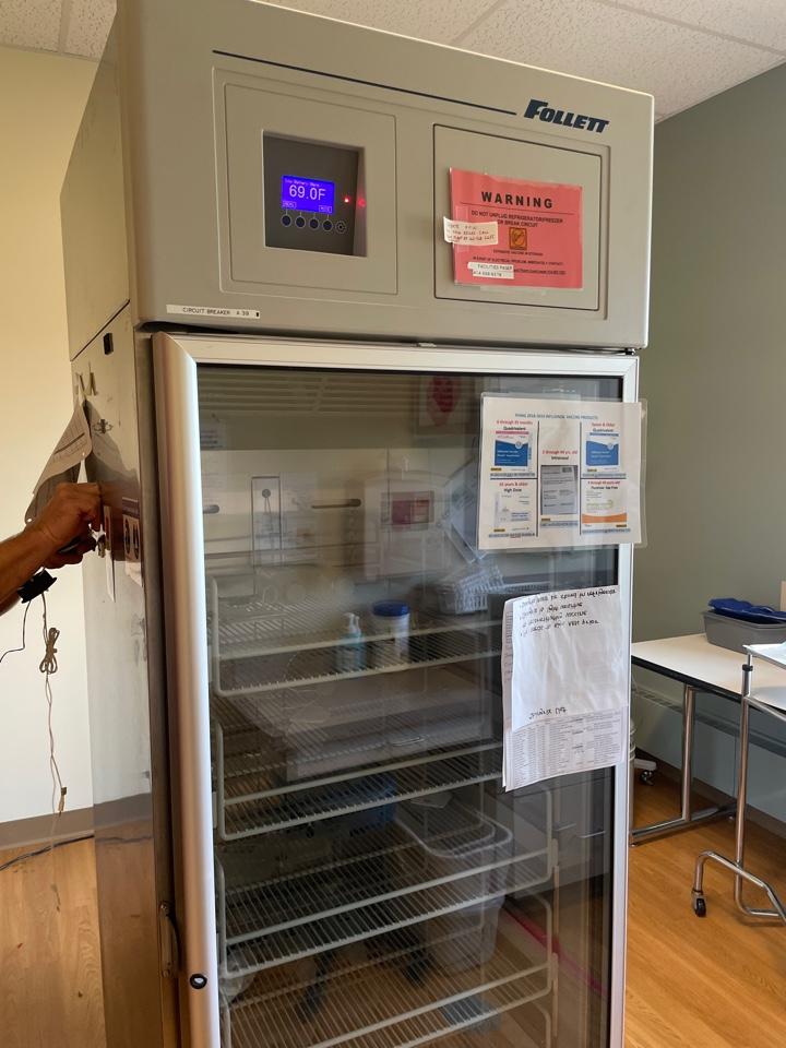 Watertown, WI - Fillet cooler repair