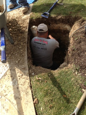 San Antonio, TX - Drain line repair in San Antonio