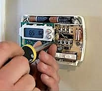 Service call that the thermostat for the Central heater is not working properly. Find the thermostat faulty and replace. Run test the central Heater and the unit is working well.