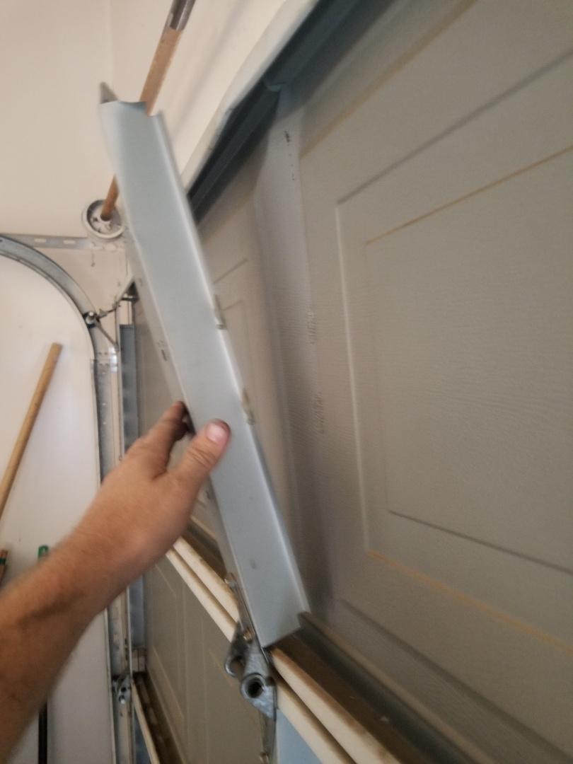 Keller, TX - Door damage