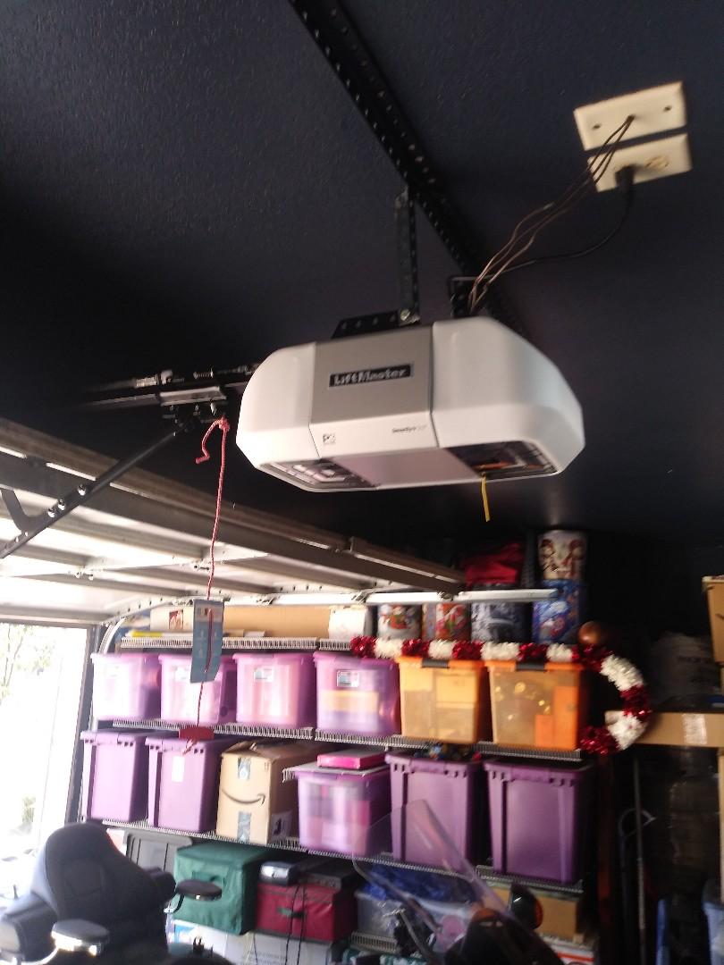 Weatherford, TX - New garage door motor liftmaster 8355
