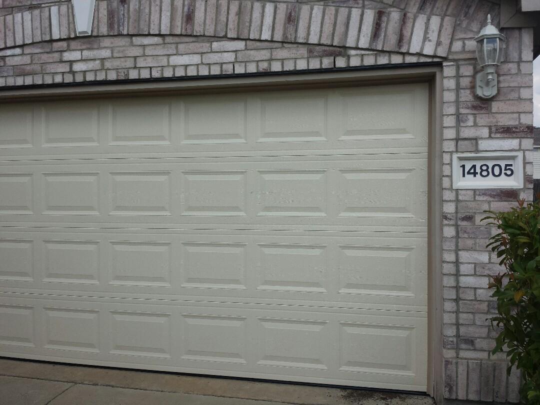 Door installed