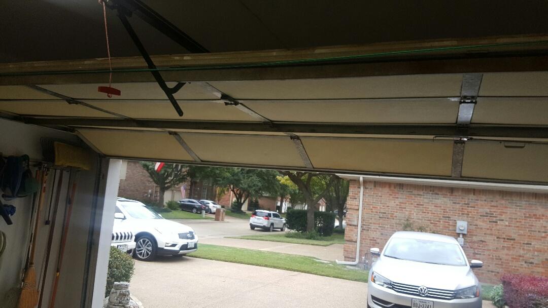 Addison, TX - Garage door tune up