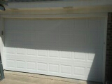 Benbrook, TX - Door installed