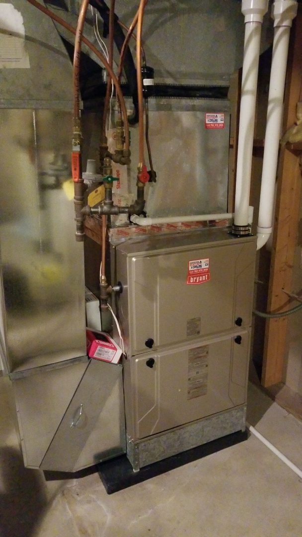 Orono, MN - Installing Bryant furnace and zone system in Orono
