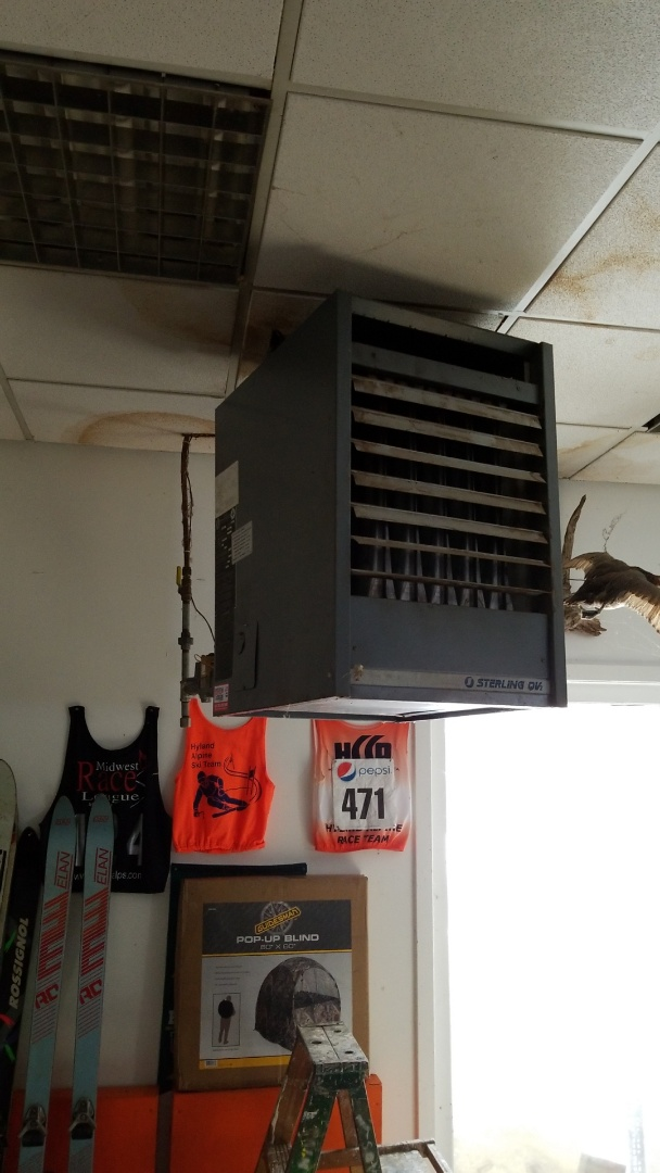 Maple Plain, MN - Putting new thermocouple in garage heater in Maple Plain