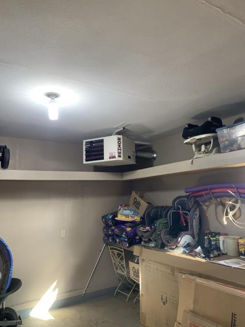 Delano, MN - Installed Reznor garage heater in Delano MN
