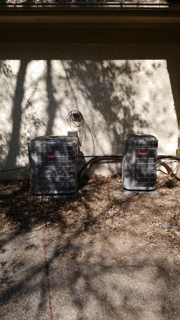 Long Lake, MN - Install two new Bryant air conditioners in Long Lake