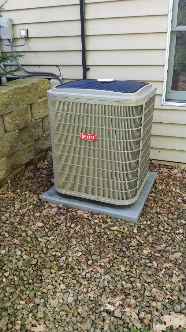 Maple Plain, MN - Installed new compressor on Bryant air conditioner in Maple Plain