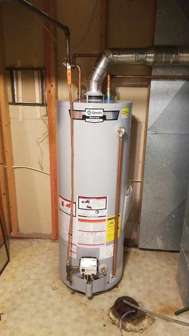 Plymouth, MN - Installing new AO Smith water heater and Plymouth