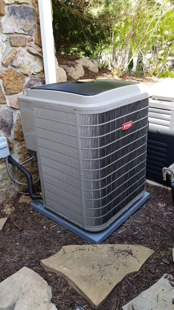 Medina, MN - Bryant Air Conditioner installed in Medina