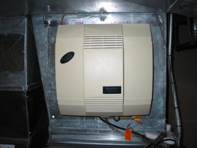 Watertown, MN - Aprilaire humidfier install and housewise thermostat install Watertown MN