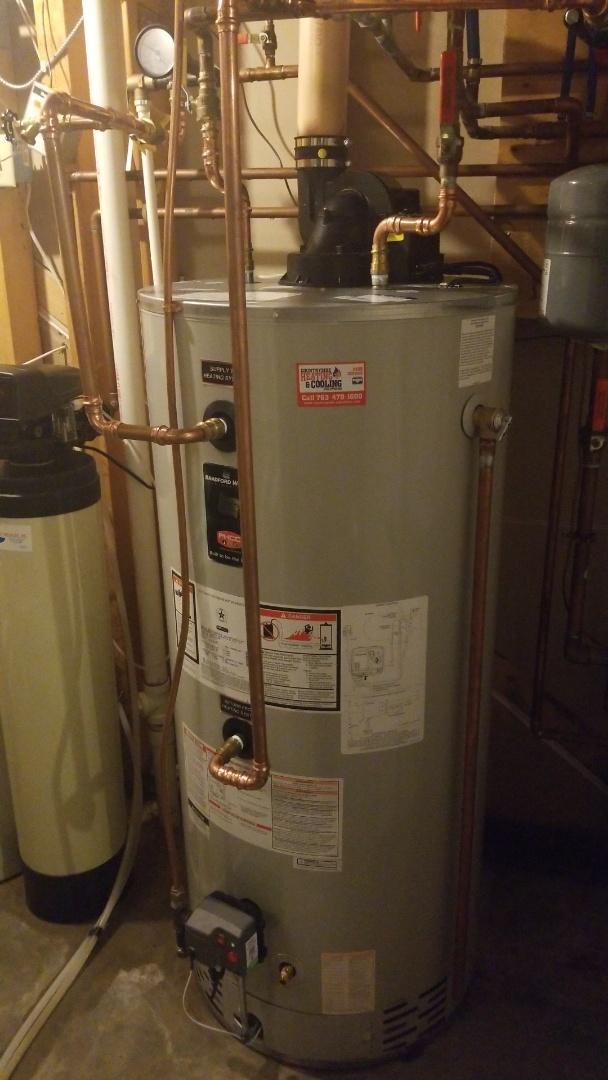 Mound, MN - Installing boiler in Mound Minnesota