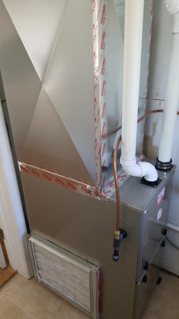 Lester Prairie, MN - Installing new furnace in Lester Prairie Minnesota