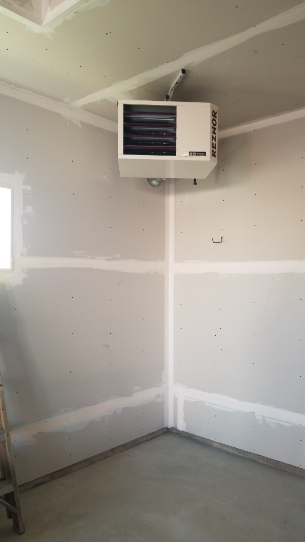 Plymouth, MN - Installing garage heater in Hamel Minnesota