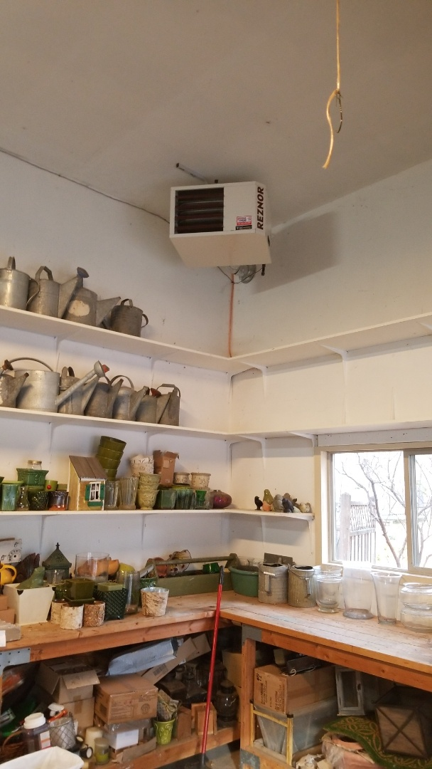 Maple Plain, MN - Installing garage heater in Maple Plain Minnesota
